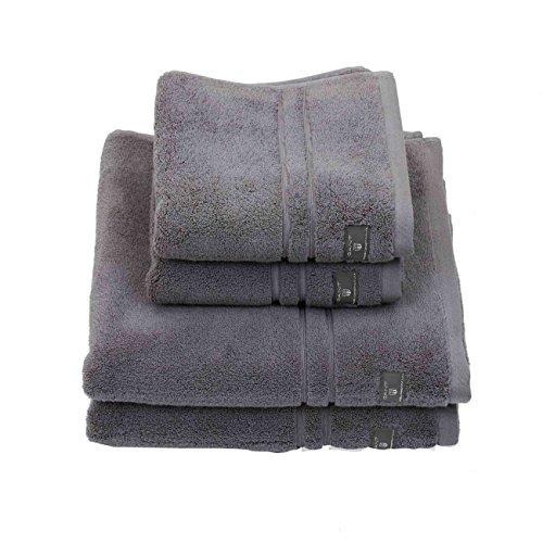 GANT Premium Terry Handtuch 50x100 Stone Grey