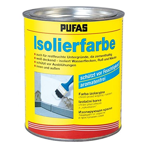 Pufas Isolierfarbe 0,750 L