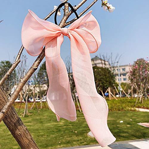 TSP Serre-tête 2021 pour femmes et filles - Joli nœud coloré en mousseline de soie - Accessoire tendance pour cheveux (Couleur : 1)
