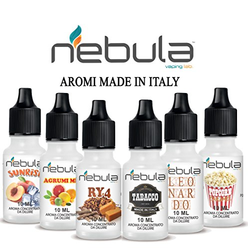 NEBULA kit 6 Aromi - MADE IN ITALY …