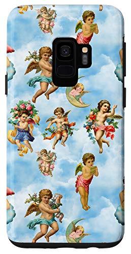 Galaxy S9 angel cherub antique Case