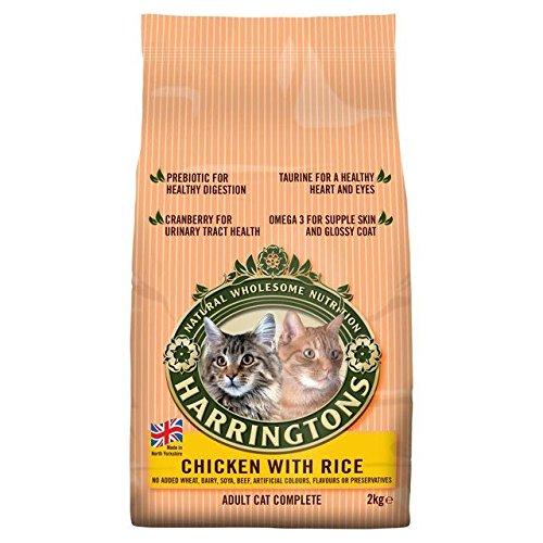 Harringtons Katzenfutter, Huhn und Reis, 2 kg, 6 Stück
