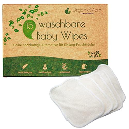 OrganicMom -  ® 15 Waschbare Baby
