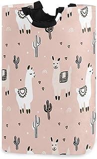 N\A Panier à Linge, Cactus Tropical Lama alpaga paniers de Rangement de Linge vêtements Pliables Sac Organisateur de Jouet...