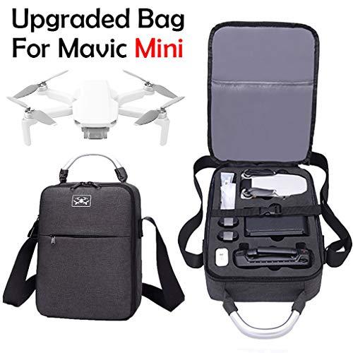 L9WEI Umhängetasche für DJI Mavic Mini, Schultertasche Wasserdicht Tasche Kamerarucksack Handtasche Aufbewahrungstasche Kameradrohnen Zubehör (schwarz, 30 * 22 * 8.5cm)