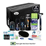 Convenience Kits International Young Men's Premium 19 Piece Travel Kit, Featuring: Axe Hair & Body Products in...