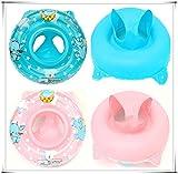 Flotador inflable para bebé con asiento interno seguro