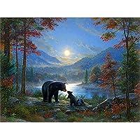 大人のパズル2000ピースクマの母と息子の大人のパズル
