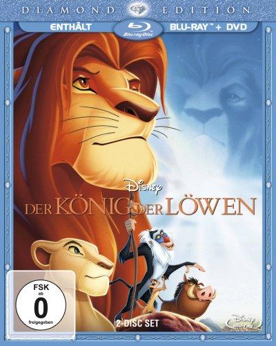Der König der Löwen (Diamond Edition + DVD) [Blu-ray]
