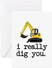 CafePress - I Really Dig You Greeting Cards - Greeting Card, Note Card, Birthday Card, Blank Inside Matte
