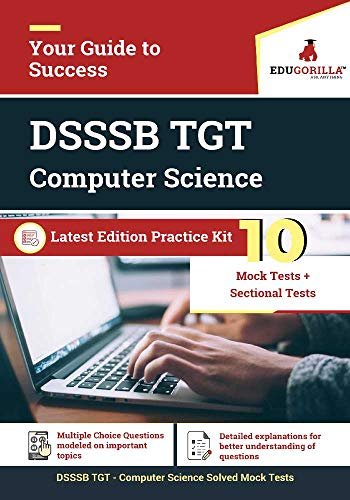 DSSSB TGT Computer Science 2020   10 Mock Test + Sectional Test For Complete Preparation (English Edition)