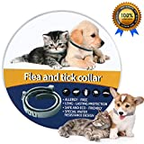 Fenvella Flea and Tick Collar - 8 Month Protection Adjustable Waterproof Collar