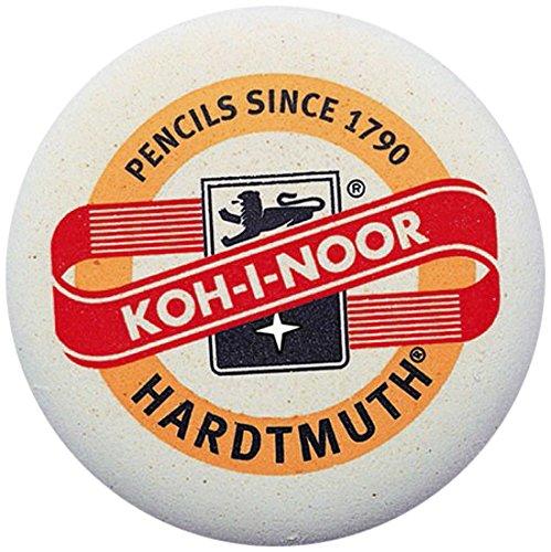 KOH-I-NOOR 6242070001KK Large Logo Eraser for Graphite Pencils