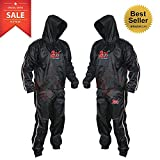 2Fit Heavy Duty Sweat Suit Sauna Exercise Gym Suit Fitness, Weight Loss, AntiRip (4XL)