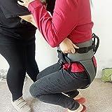 Hmlopx Transferir Honda De Pie Ayudar Paso Cinturón Médico Enfermería La Seguridad Paso Ayudar Dispositivo - Arnés De Elevación del Paciente - Bariatría, Pediátrico, Mayor