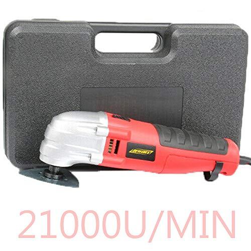 Multifunktionswerkzeug,Oszillierwerkzeuge mit 6 variabler Drehzahleinstellungen 14000-21000r Set Zweck zum Schneiden Polieren Schleifen Schaben Schleifmörtel Entfernen