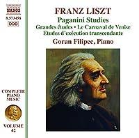 Liszt: Paganini Studies by Goran Filipec (2013-05-09)
