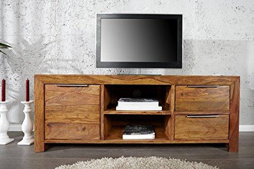 DuNord Design TV Board Lowboard Arona Palissander Sheesham massief hout natuur 135cm TV meubel