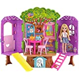 Barbie Dollhouse, Portable 1-Story Playset with...