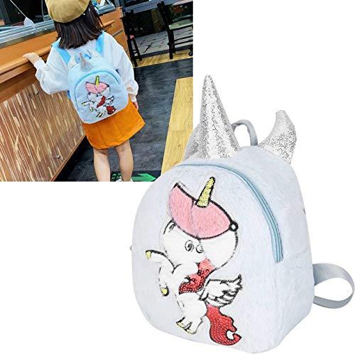 SALUTUYA Zaino per Bambini Cartoon Animal per Borsa da Viaggio Mini Baby Girl Boy(Blue)