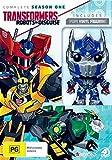 Transformers: Robots in Disguise Season 1 plus Optimus Prime Figurine 4-DVD Box Set [ Origen Australiano, Ningun Idioma Espanol ]