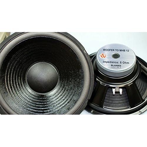 2X Lautsprecher 30cm Bass 300W 8Ohm Subwoofer Speaker MHB 12Zoll