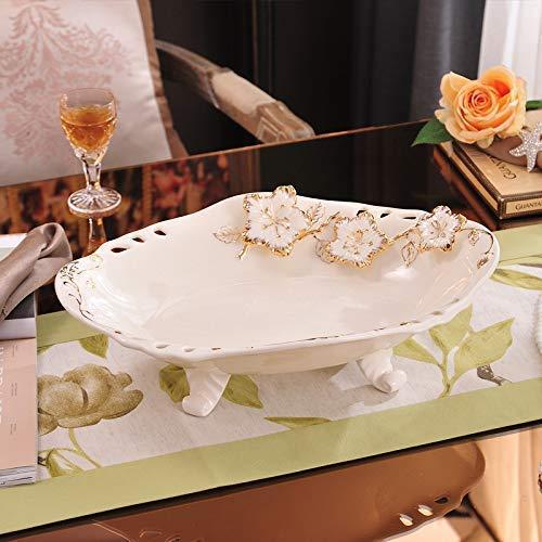 JXXDDQ Artesanías de estilo europeo creativas, fruta plana sala de estar decoración de la decoración del hogar de la moda, G004 fruta plana