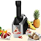 Ice Cream Maker,Fruit Soft Serve Ice Cream Maker,Home Ice Cream Maker Make Delicious Ice Cream Sorbets And Frozen Yogurt Maker,Frozen Fruit Dessert Portable Household Use