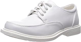 Boys Lace Up Matte Dress Shoes