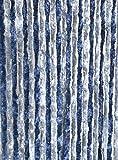 Moritz Cortina de tejido tipo chenille, mosquitera, 100x 200cm, 24hilos