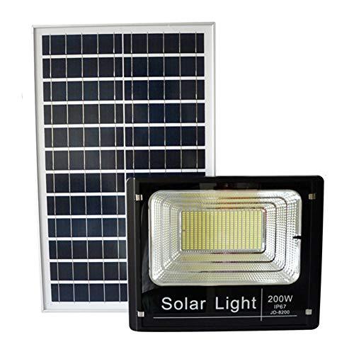 Solaire Projecteur LED,IP65 Sécurité Extérieure Étanche Lumière Accueil Haute Puissance Super Bright Spotlight (taille : 200W)