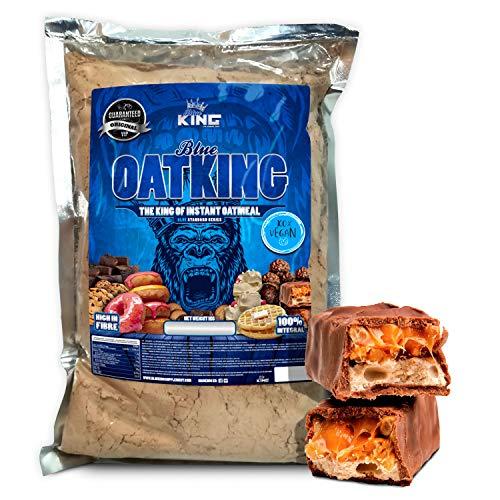 OFERTA!!Harina de Avena Integral 1kg, American Suplement ideal para tortitas, batidos, bizcochos y magdalenas (DULCE DE LECHE)