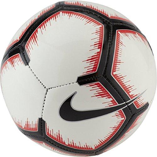 Nike NK SKLS-FA18 Balón de fútbol, Adultos Unisex, White/Bright Crimson/Black