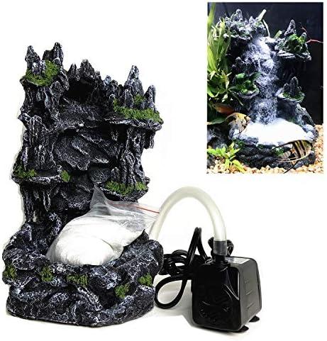 Sand waterfall aquarium ornament