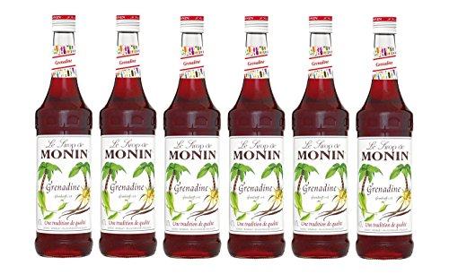 Monin Sirup Grenadine, 0,7L 6er Pack