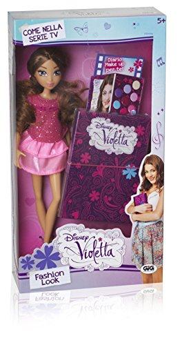 Giochi Preziosi 70182371 - Disney Violetta Fashion Puppe look mit Schminkbuch
