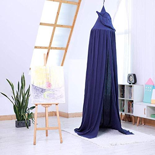 Moskitonetz Babybett Zimmer Dekorationen Baldachin, Blumenblatt Zelt Kinder Baumwolle Bett Vorhang Spielzeug Haus Pink Bett Kit Schutznetz