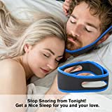 Easyinsmile® Easyinsmile Anti Snore relief Anti Snore Chin Strap Belt - sleep better