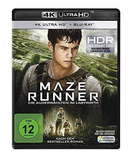 Maze Runner 1 - Die Auserwählten im Labyrinth (4K Ultra HD) (+ Blu-ray)