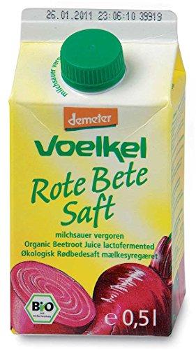 Pur jus de betteraves rouges bio lacto-fermenté