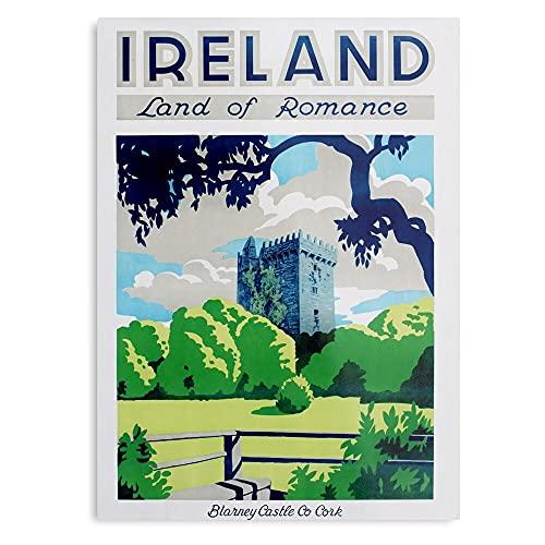 Impresión artística de pared con diseño de bandera de Reino Unido de Gran Bretaña e Irlanda de Inglaterra.