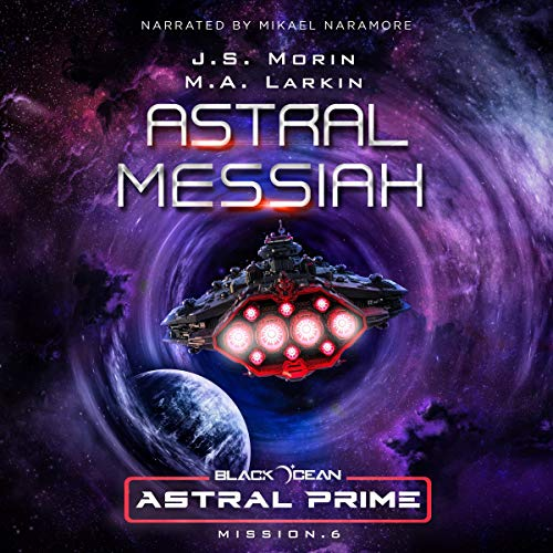 Astral Messiah audiobook cover art