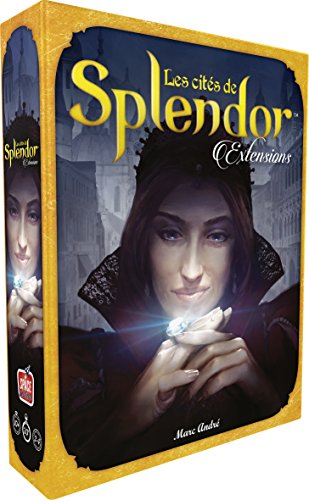 Splendor - Extension Les Cités de Splendor - Asmodee - Jeu de société - Jeu de stratégie