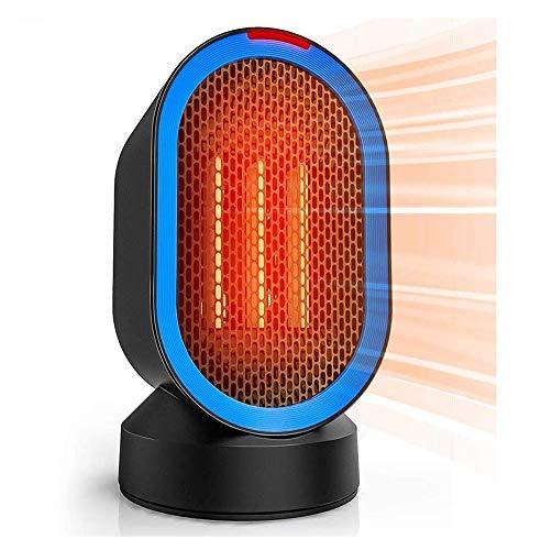 Chauffage, Chaufferette Portable, 600W intérieur électrique Bureau céramique Commande du Oscillant Smart Touch Four Le Basculement de Protection for Office & Home.