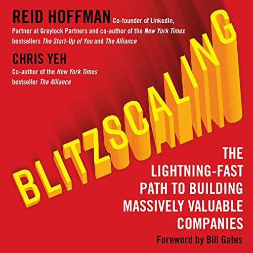 Blitzscaling cover art