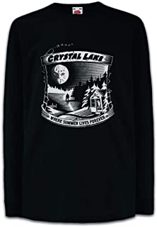 Urban Backwoods Where Summer Lives Forever Camisetas de Manga Larga T-Shirt para Niños Niñas
