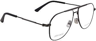اطار نظارة طبية بتصميم مربع موديل JM005 GUA 58 للجنسين من جيمي تشو، لون رمادي
