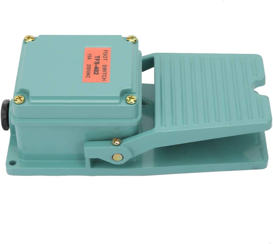 Manufacturer direct delivery Power Maintained Foot Switch Single No Sales Treadle Momentary Pedal