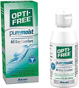 Alcon Opti-free Puremoist Multi-Purpose Disinfecting Solution 4 Oz