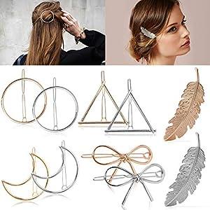 Beauty Shopping Hair Clip Fashion Various Shape Hair Barrettes Creative Geometric